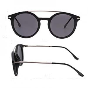 Retro Round Polarized Sunglasses for Women Men New Style Fashion Metal Frame pk1015 now 73.0% off