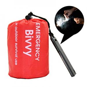 Emergency Outdoor Survival Sleeping Bag Therma Bivvy now 50.0% off , Reusable Lightweight Waterpro..