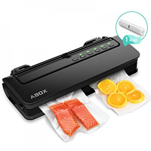 Vacuum Sealer Machine now 50.0% off , ABOX V63 Automatic Food Vacuum Air Sealing System with Built..