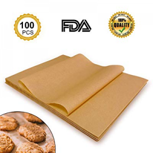One Day Only!Parchment Paper Baking Sheets now 40.0% off , Unbleached and Precut Non-Stick, Non-to..