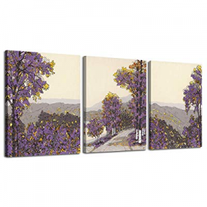 One Day Only!LKY ART Canvas Print Wall Art Birch Trees Picture Painting now 30.0% off ,Modern Natu..
