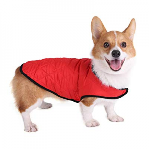JEMA Reversible Vest for Dogs Spring and Summer Dog Coat Jacket Comfortable and Breathable for Sma..