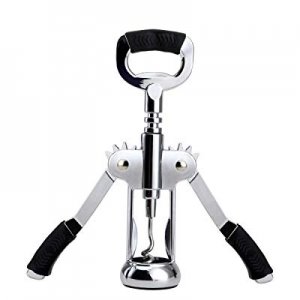 Pensray Wing Corkscrew Wine Opener & Beer Bottle Opener with Wine Stopper and Pourer now 50.0% off