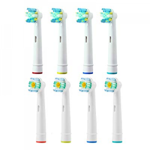 40.0% off Toothbrush Replacement Heads Refill for Oral-B Braun Electric Toothbrush Vitality Floss ..