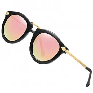 PINCOUR Oversized Sunglasses for Women PK1189 Cateye Shades HD Lens Polarized now 15.0% off
