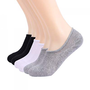 60.0% off Vezz No Show Socks Women 6 Packs Low Cut Cotton Thin Sports Casual Men Invisible Sock Fl..