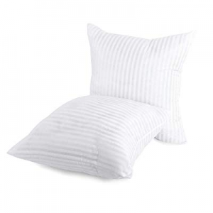 60.0% off Kingnex Square Throw Pillow Inserts - Set of 2-20 X 20 - Hypoallergenic Polyester Stuffe..