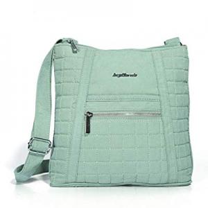 Angel Barcelo Womens Classic Sling Shoulder Bag Cross Body Tote Handbag Soft Cotton now 60.0% off