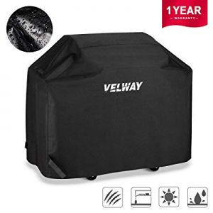56.0% off Velway Gas Grill Cover 58 Inch Burner Barbecue Covers Heavy Duty Waterproof UV Fade Resi..