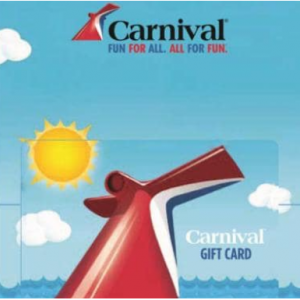 Carnival Cruise $ 200 Gift Card (Email Delivery) for $185 @Newegg