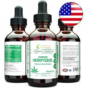 Extreme Concentration Hemposol Liquid Drops. Ultra Pure for Pain and Anxiety. Peaceful Sleep and S..