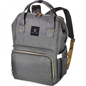Soulsten Diaper Bag Backpack now 10.0% off , Stylish for Mom and Dad, Multi-Function, Waterproof T..