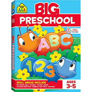 School Zone - Big Preschool Workbook - Ages 3 to 5 @ Amazon