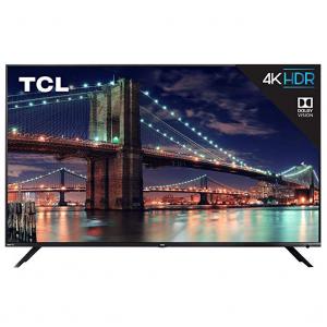 TCL 65R617 65-Inch 4K Ultra HD Roku Smart LED TV (2018 Model) @ Walmart