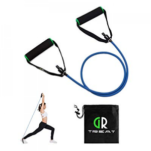 GUARD & REVIVAL TREAT Resistance Exercise Tube - Resistance Band with Handles - Exercise Cords for..