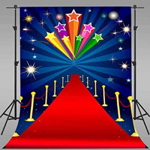 51.0% off EARVO Background 5x7ft Red Carpet Photography Background Wedding Events Cotton Backdrop ..