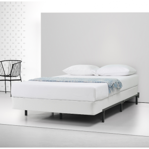 "Spa Sensations by Zinus 7"" Low Profile Adjustable Steel Bed Frame, No Tools Assembly, fits Twin"