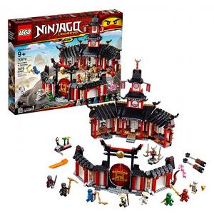 LEGO NINJAGO Legacy Monastery of Spinjitzu 70670 Building Kit, New 2019 (1070 Pieces) @ Amazon