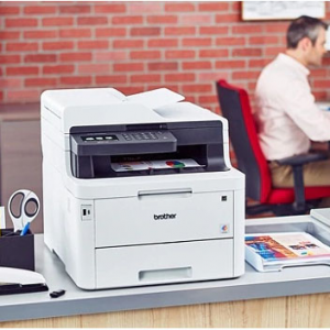 Brother MFC-L3770CDW Wireless Color All-In-One Laser Printer @ Office Depot