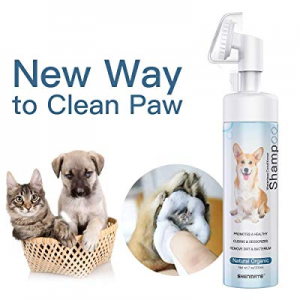 SHENMATE Pet Paw Cleaner now 70.0% off , No-Rinse Waterless Shampoo for Small Medium Large Dogs Ca..