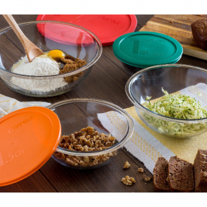 Pyrex 8-Piece Smart Essentials Mixing Bowl Set @Walmart