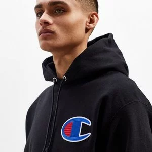 Champion Big C Chain Stitch Reverse Weave Hoodie Sweatshirt Sale @Urban Outfitters