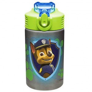 Nickelodeon Zak Designs Paw Patrol 15.5oz Stainless Steel Kids Water Bottle @ Amazon