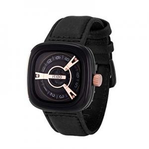 40.0% off ISIDO Mens Watches - Waterproof Quartz Wrist WatchesforMen - Luxury Fashion Industrial..