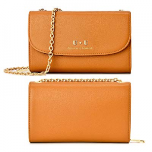 50.0% off Cellphone Crossbody Shoulder Bag Leather - U+U (2019 Version) RFID Blocking Handbag Wall..