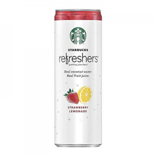 Select Prime Members: $7 12-Pk 12oz Starbucks Refreshers (Strawberry Lemonade) @ Amazon.com