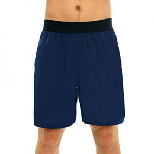 42.0% off Super Lightweight Mens Workout Shorts Quick Dry Unlined Athletic Gym Running Pace Shorts..