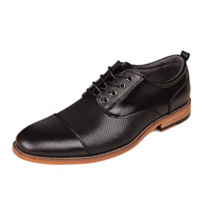 Kunsto Men's Leather Oxfords Dress Shoes Lace up now 20.0% off