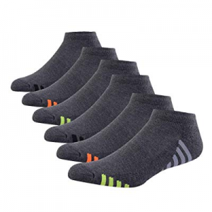 Mens Athletic Low Cut Ankle Socks Cushioned Running Sports Sock for Men 6 Pack now 62.0% off