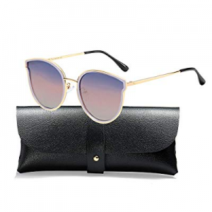 55.0% off Oversized Cat Eyes Sunglasses for Women Polarized Fashion Vintage Eyewear for Outdoor - ..