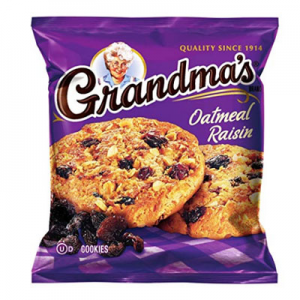 Grandma's Oatmeal Raisin Cookies, 2.5 Ounce (Pack of 60) @ Amazon.com