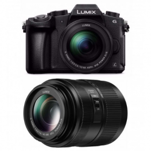 Panasonic LUMIX G85 Mirrorless Camera w/ 12-60mm & 45-200mm Lenses @ Focus Camera