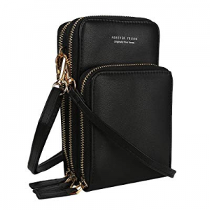One Day Only!40.0% off Small Crossbody Bags Smartphone Cell Phone Cross body Purse Leather Wallet ..