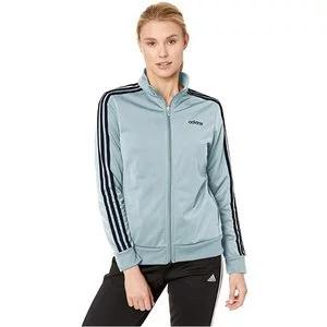 adidas Women's Essentials 3-stripes Tricot Track Jacket Sale @Amazon.com