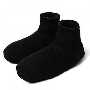 One Day Only!50.0% off Unisex Fuzzy Slipper Socks - Women Men Winter Warm Floor Socks with Gripper..