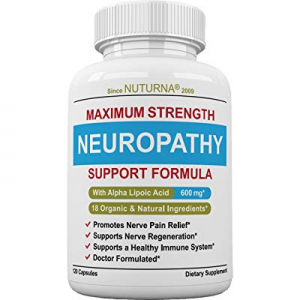 One Day Only!20.0% off Neuropathy Support Supplement - Nerve Pain Relief Support with 600 mg Alpha..
