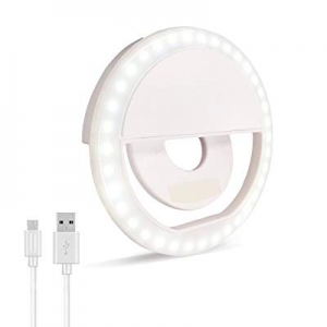 Selfie Ring Light now 50.0% off , Oternal Rechargeable Portable Clip-on Selfie Fill Light with 36 ..