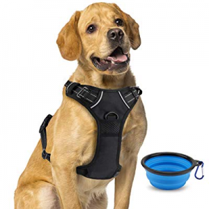 50.0% off Keenstone Dog Harness No-Pull Pet Padded Vest Adjustable Outdoor Pet Vest 3M Reflective ..