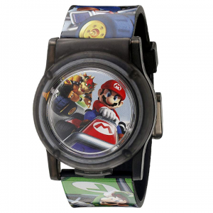 Nintendo Kids' NMK3403 Digital Display Analog Quartz Multi-Color Watch @ Amazon
