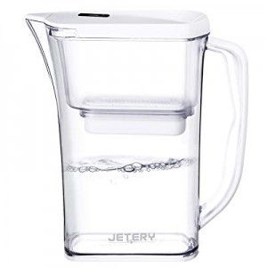 JETERY 8-Cup Water Filter Pitcher now 30.0% off , Long-Lasting Fast Filtration(200 Gallon) Patente..