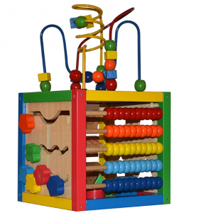 Play22 5 in 1 Baby Activity Cube with Bead Maze @ Amazon