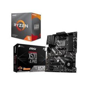 AMD RYZEN 5 3600X 6-Core CPU + MSI X570-A PRO MB @ Newegg