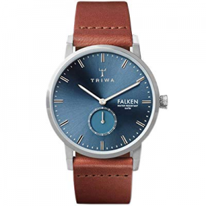 One Day Only!TRIWA Falken Men's Minimalist Dress Watch – Luxury Wrist Watches for Men, 38mm now 15..