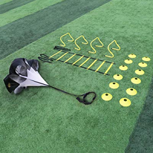 One Day Only!A11N Speed & Agility Training Set- Includes 1 Resistance Parachute now 20.0% off , 1 ..
