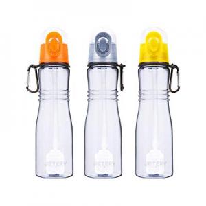 JETERY Sport Water Bottle with Filter now 25.0% off , 7050 Personal Hard Side Water Purifier Bottl..