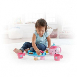 Fisher-Price Laugh & Learn Sweet Manners Tea Set with Lights & Sounds @ Walmart